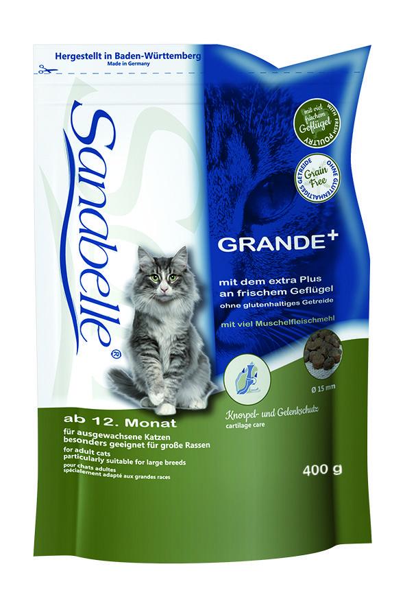 Сухой корм Sanabelle Grande для кошек крупных пород
