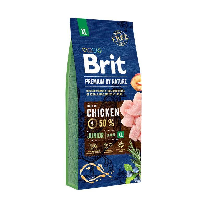 Сухой корм Brit Premium by Nature Junior XL для молодых собак гигантских пород