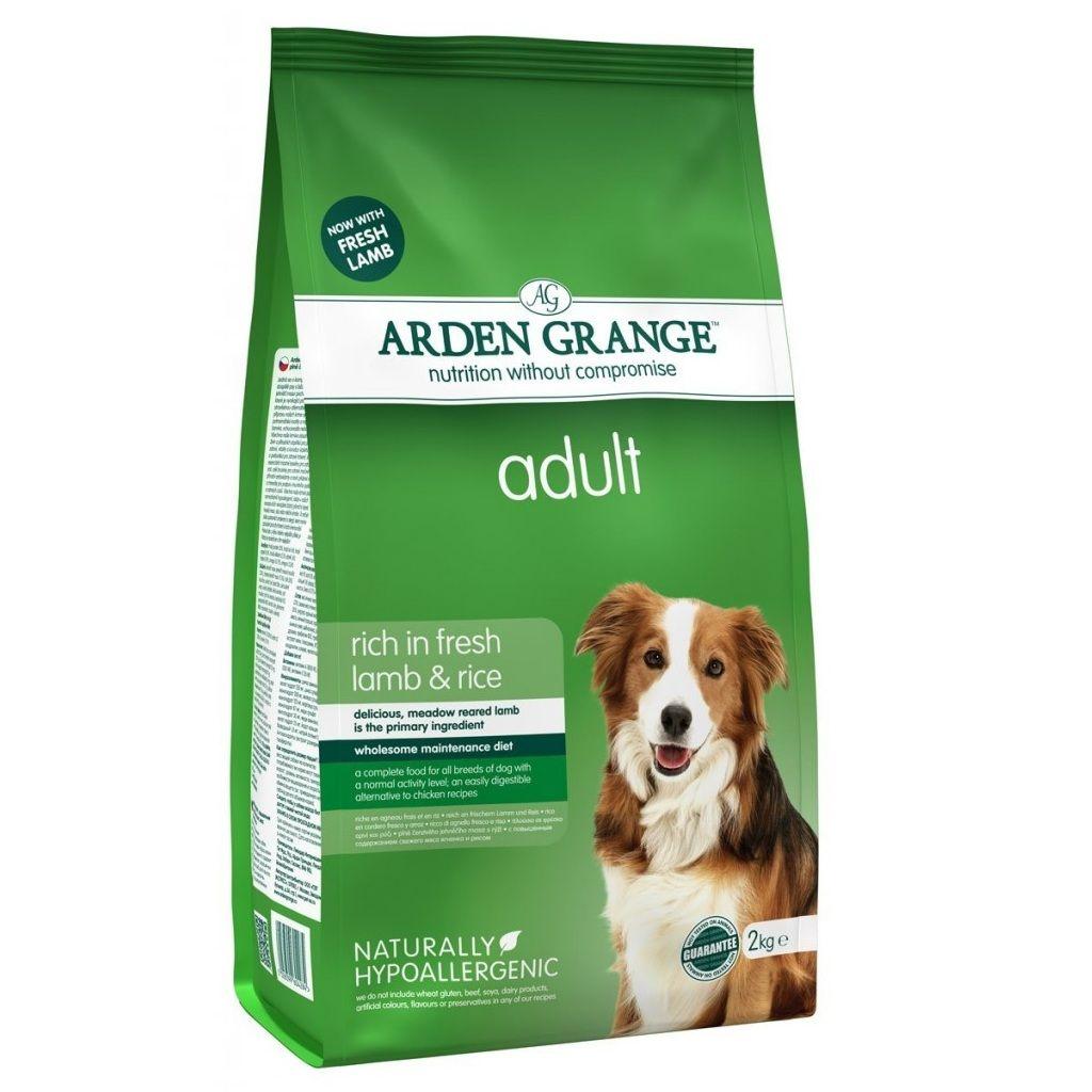 Сухой корм Arden Grange Adult Dog с ягненком и рисом для взрослых собак