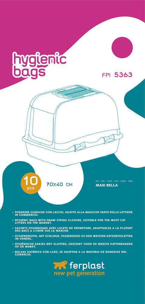 Мешок гигиенический Ferplast для лотков MAXI BELLA