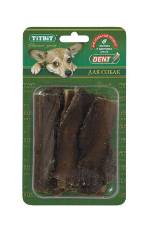 Рубец говяжий TiTBiT в блистере для собак