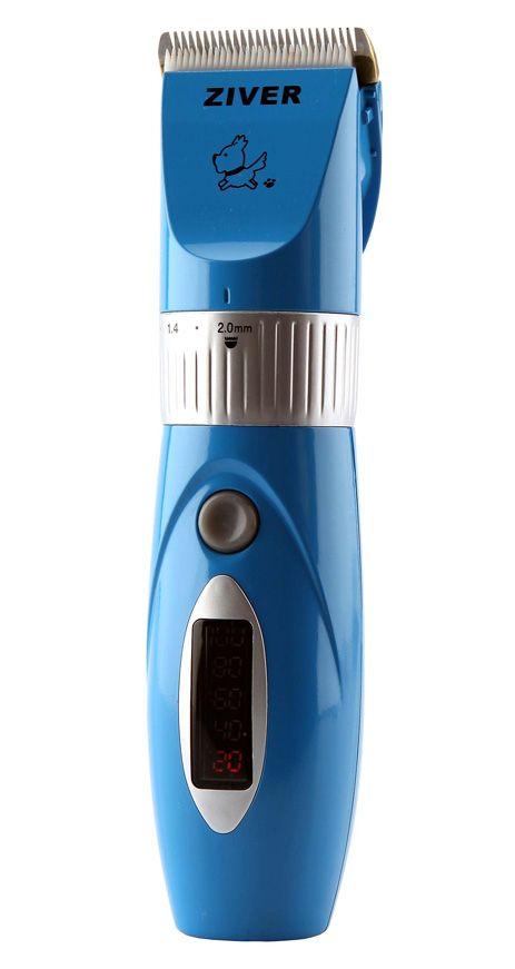 Машинка Ziver-202 с керамическим ножом для стрижки животных 15 Вт