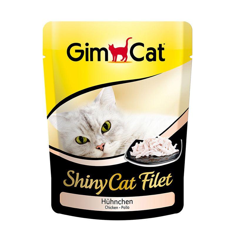 Паучи Gimcat Shiny Cat Filet для кошек 70 г