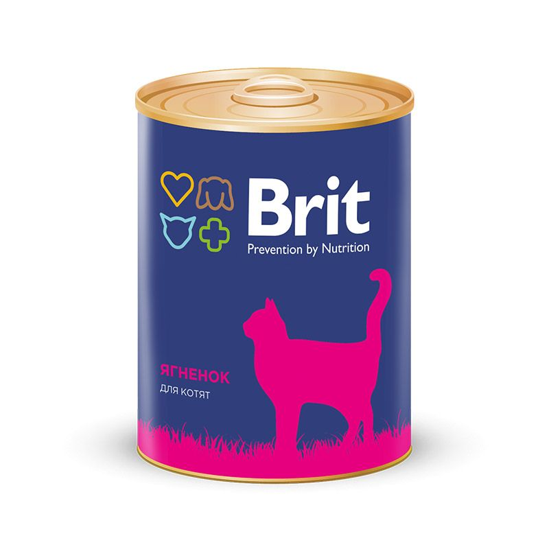 Консервы Brit Premium для котят 340 г