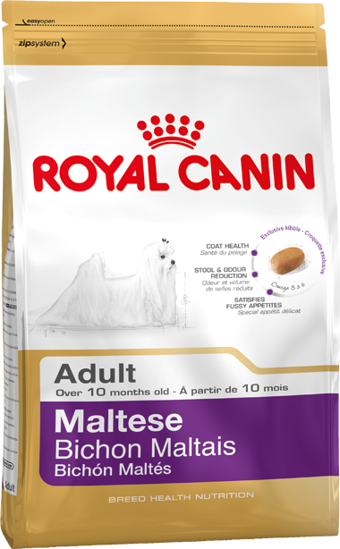 Сухой корм Royal Canin Maltese Adult для взрослых собак породы Мальтийская болонка