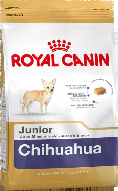 Сухой корм Royal Canin Chihuahua Junior для щенков породы Чихуахуа