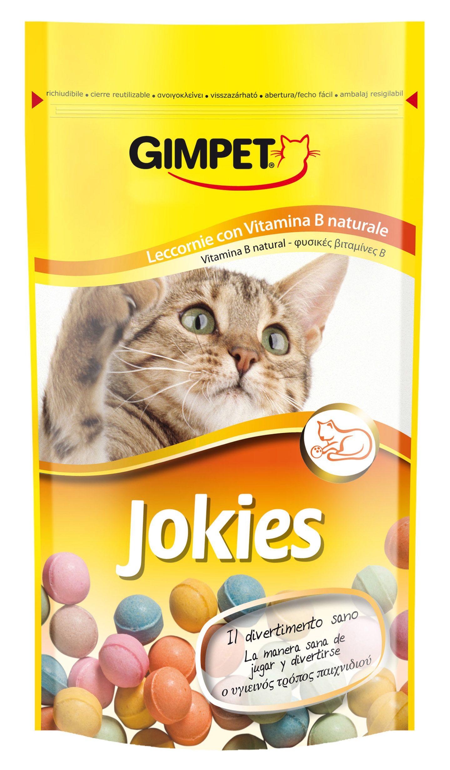 Витаминизированное лакомство Gimpet JOKIES для кошек