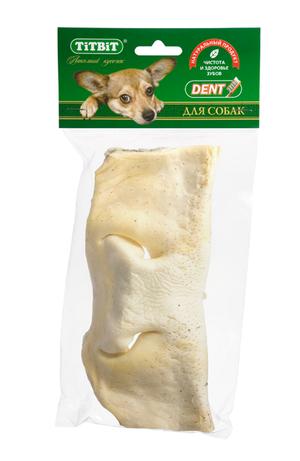 Нос говяжий TiTBiT бабочка в мягкой упаковке для собак