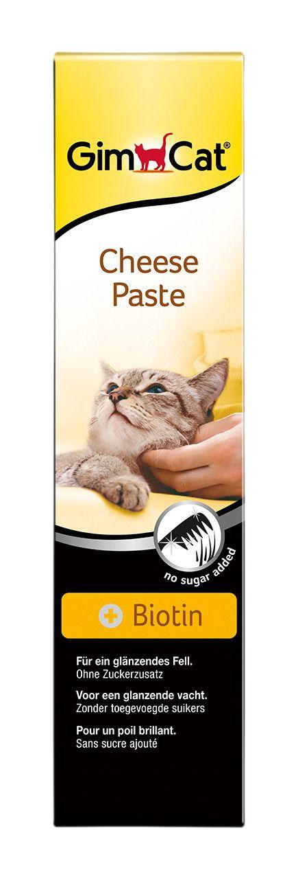 Паста Gimpet сырная с биотином для кошек