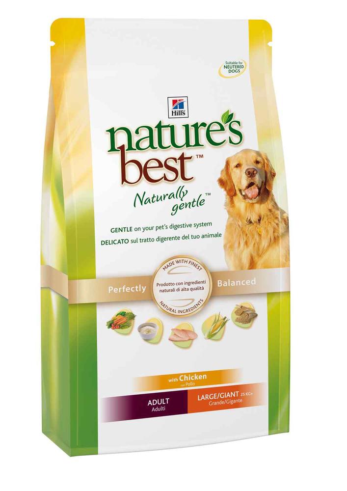 Сухой корм Hill's Nature's Best Adult Large/Giant для собак крупных и гигантских пород со вкусом курицы