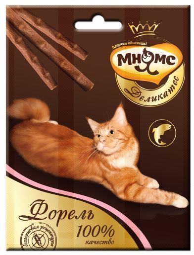 Мнямс деликатес лакомые палочки 9 см кошек