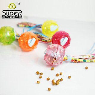 Игрушка SuperDesign Мячик с текстильными хвостиками для собак