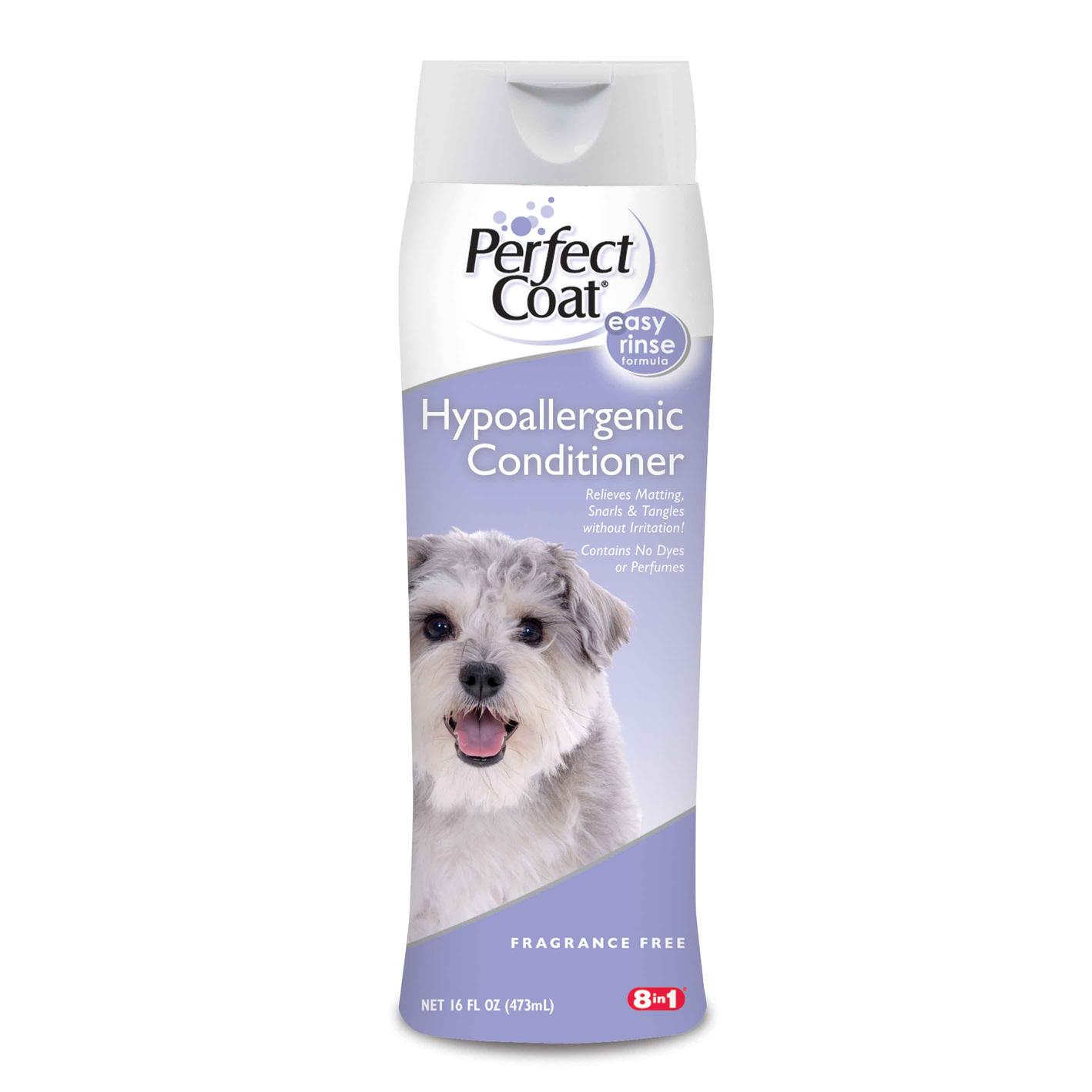 Кондиционер 8in1 Perfect Coat Hypo Condition Treat гипоаллергенный для шерсти собак 473 мл