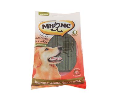Зубные палочки Мнямс с эвкалиптом для собак
