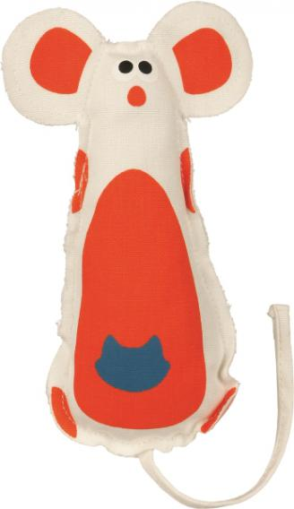 Игрушка Trixie Мышь тканевая с кошачьей мятой для кошек