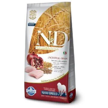 Сухой корм Farmina Natural&Delicious Low Grain Dog Adult Maxi низкозерновой для взрослых собак крупных пород