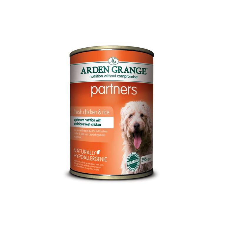 Консервы Arden Grange Partners для собак 395 г