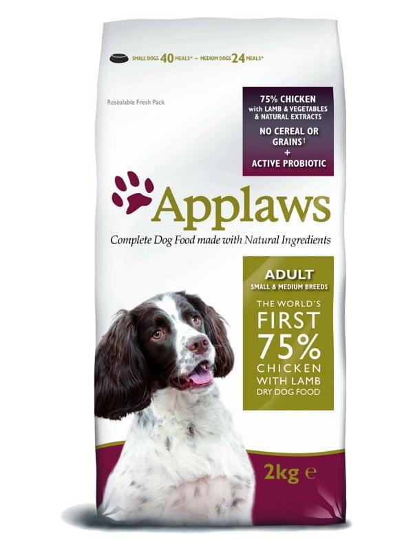 """APPLAWS Беззерновой корм для Собак малых и средних пород """"Ягненок/Овощи"""""""