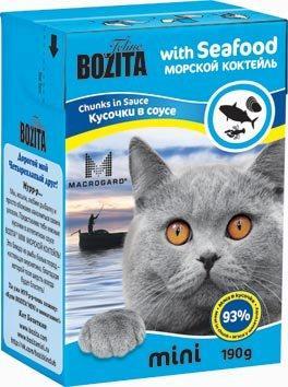 Консервы Bozita MINI для кошек кусочки 190г