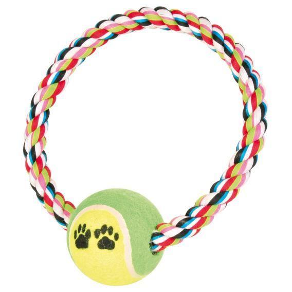 Игрушка Trixie Грейфер с мячом для собак 18 см