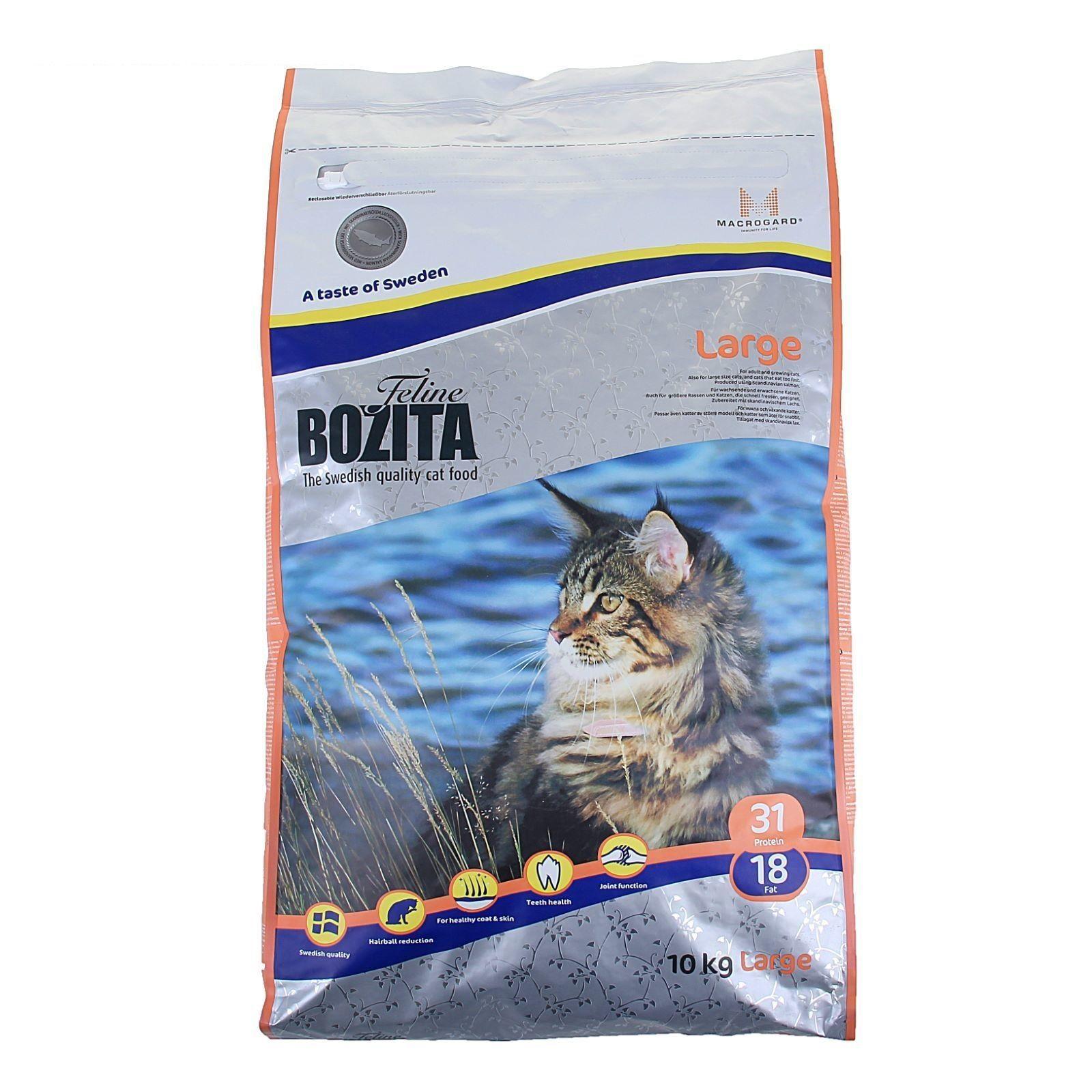 Сухой корм Bozita Feline Large для кошек крупных пород