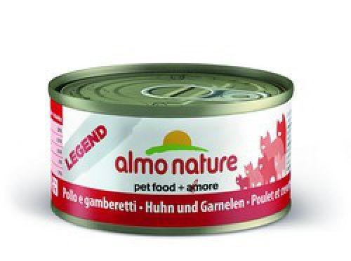 Консервы Almo Nature Legend с курицей и креветками для взрослых кошек