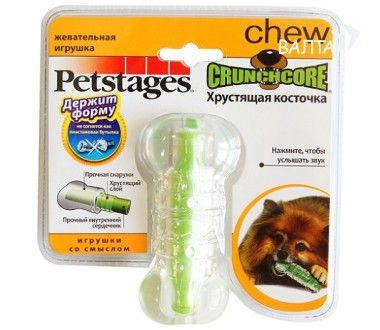 Игрушка Petstages CrunchCore Хрустящая косточка для собак