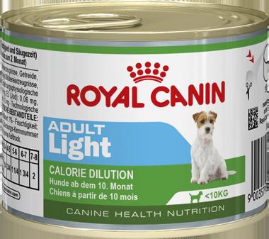 Консервы Royal Canin Adult Light Mousse для собак с избыточным весом