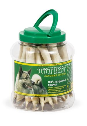 Нога баранья TiTBiT в пластиковой банке для собак