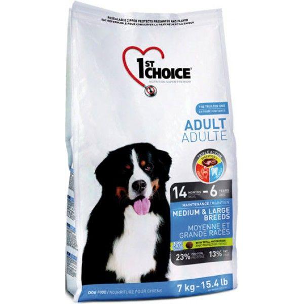 Сухой корм 1st Choice Adult Medium&Large Breeds для собак средних и крупных пород