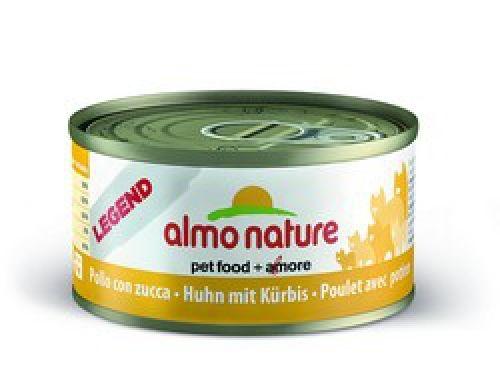 Консервы Almo Nature Legend с курицей и тыквой для взрослых кошек