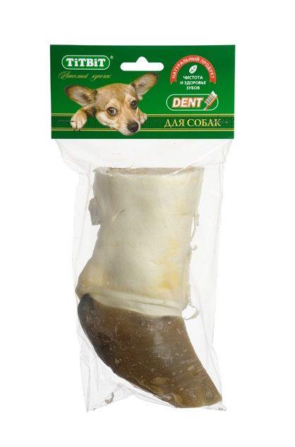Нога говяжья TiTBiT резаная для собак