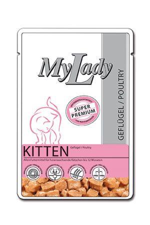 Паучи Dr. Alder's My Lady Kitten с мясом курицы для котят 85 г