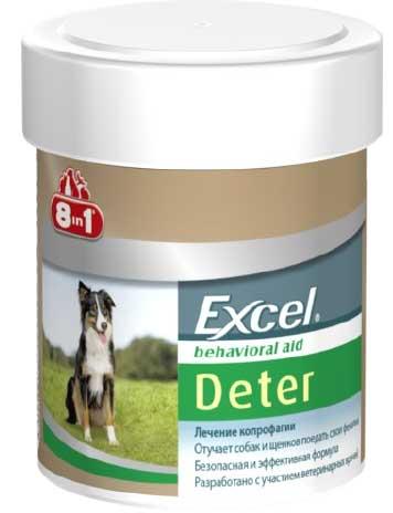 Средство 8in1 Excel Deter от поедания фекалий для собак