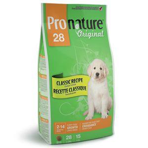 Сухой корм Pronature Original 28 для щенков крупных пород с цыпленком