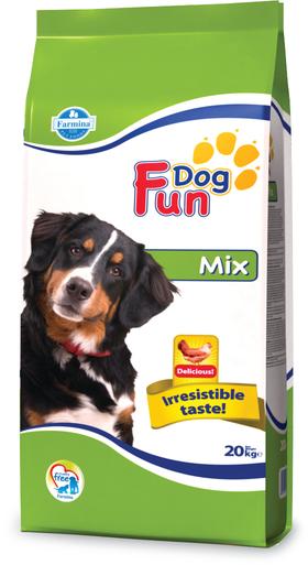 Сухой корм Farmina Fun Dog Mix для взрослых собак