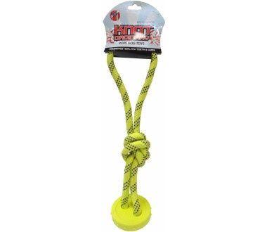 Игрушка R2P Ordinary Knots Канат с мячиком и петлей для собак