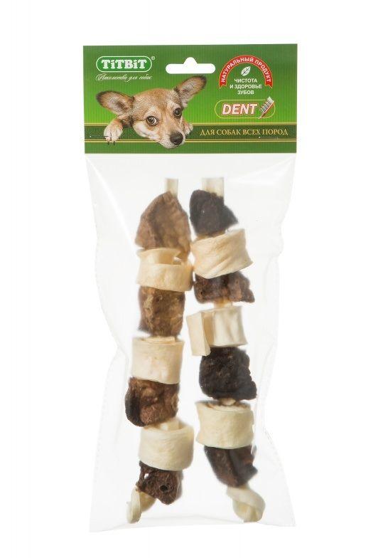 Шашлычок TiTBiT говяжий для собак