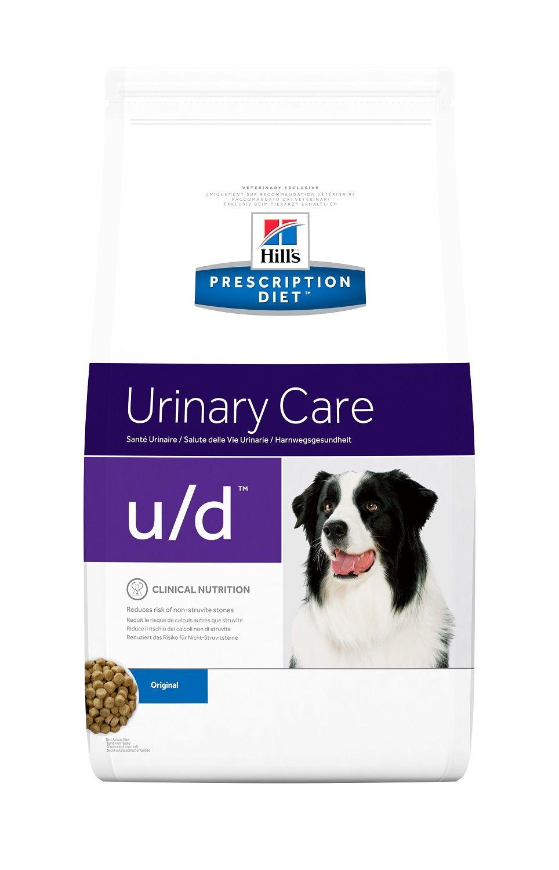 Сухой корм Hill's Prescription Diet U/D Urinary Care для лечения МКБ и заболеваний почек у собак 5 кг