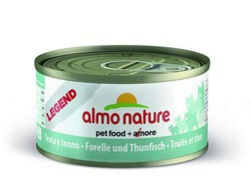 Консервы Almo Nature Legend с форелью и тунцом для взрослых кошек