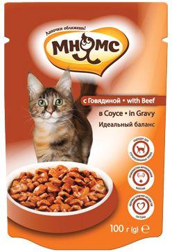 Паучи Мнямс идеальный баланс для взрослых кошек
