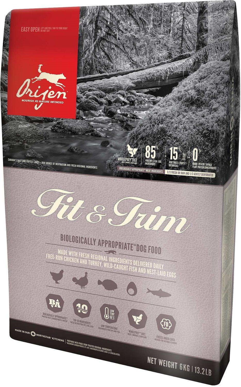 Сухой корм Orijen Fit&Trim 85/15 беззерновой для собак с избыточным весом