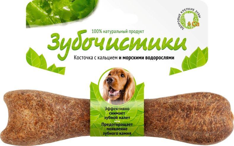 Косточка Зубочистики с кальцием для собак весом 10-25 кг