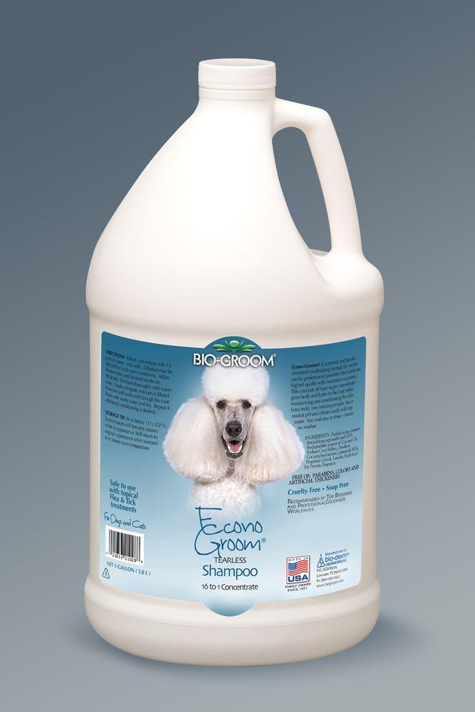 Концентрированный шампунь Bio-Groom Econogroom Shampoo для собак и кошек 3.8л
