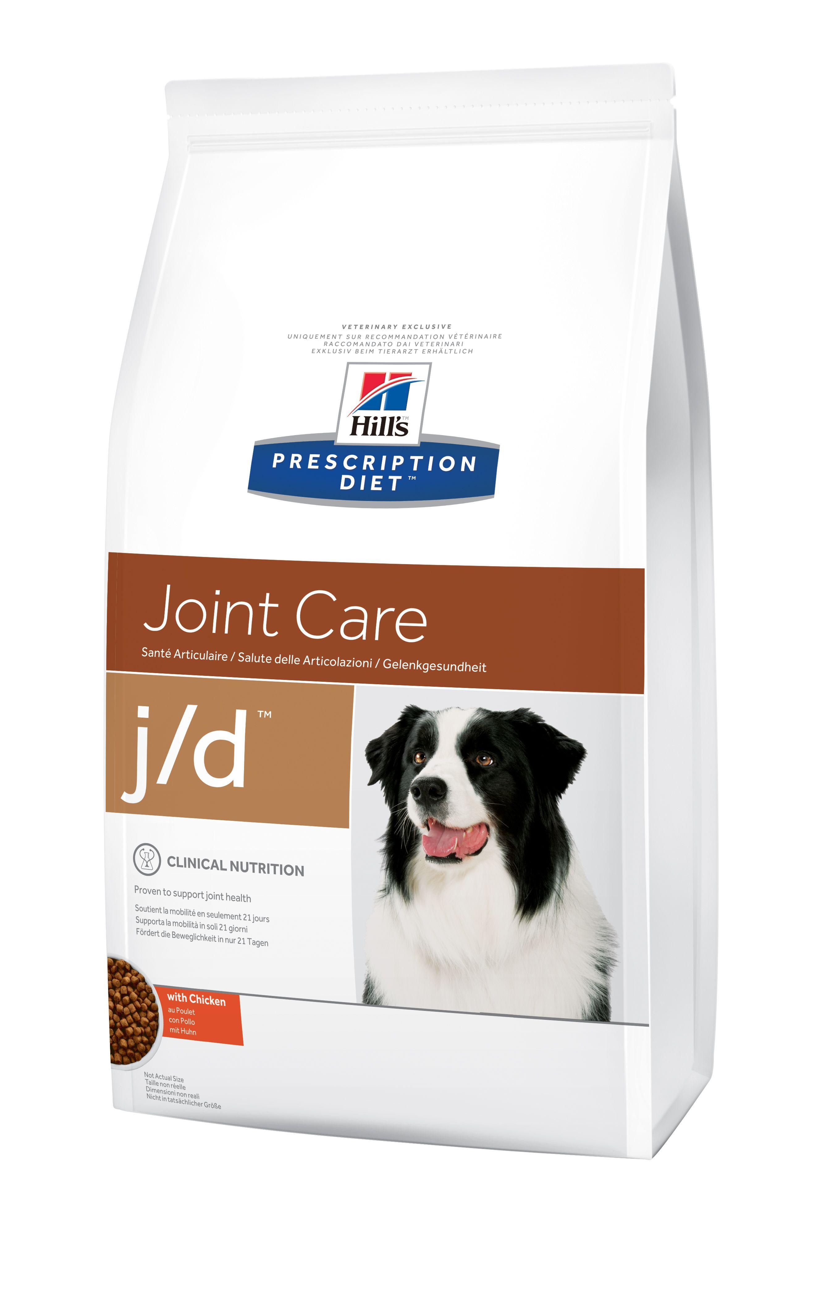 Сухой корм Hill's Prescription Diet J/D Joint Care для лечения заболеваний суставов у собак