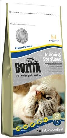 Сухой корм Bozita Feline Indoor & Sterilised для домашних и стерилизованных кошек
