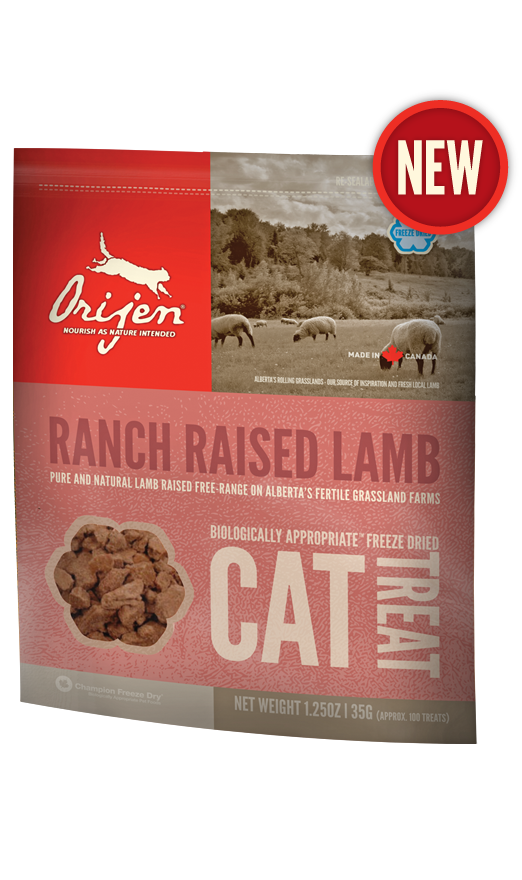 Лакомство Orijen Alberta Lamb Treat с ягненком для кошек 35 г