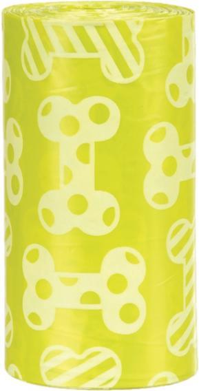Пакеты Trixie с запахом лимона для уборки за собаками