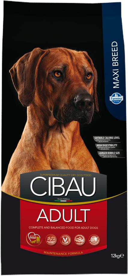 Сухой корм Farmina Cibau Adult Maxi для взрослых собак крупных пород, 12 кг