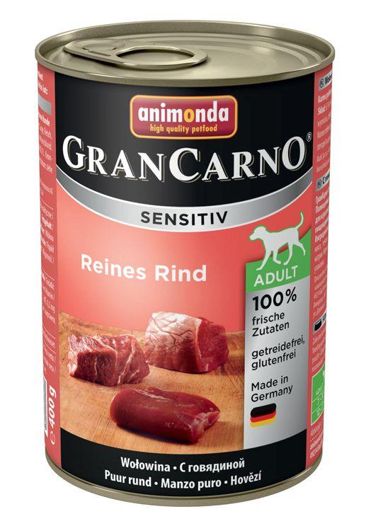 Консервы Animonda Gran Carno Sensitiv для собак с чувствительным пищеварением